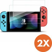 Screen Protector Tempered Glass (9H Gehard Glas) - Nintendo Switch - 2 stuks