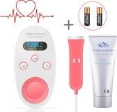 Lifeproducts Doppler - Compleet Startpakket met Dopplergel & Batterijen -  Baby Hartje Monitor - Beluister en Meet de Babyhartslag