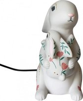 House of Disaster Mother and Baby Rabbit Lamp