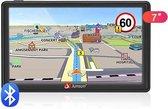 Junsun 7 inch AutoNavigatie  GPS met 48 kaarten Europa