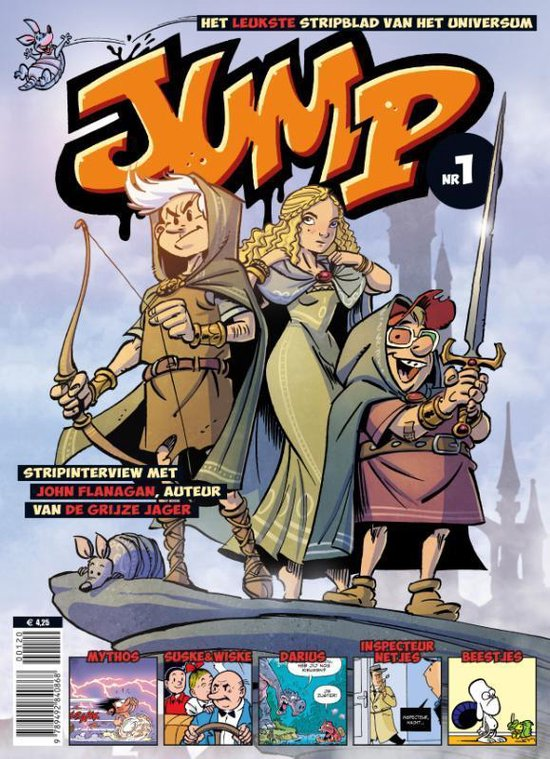 Boek cover Jump van Charel Cambré (Paperback)
