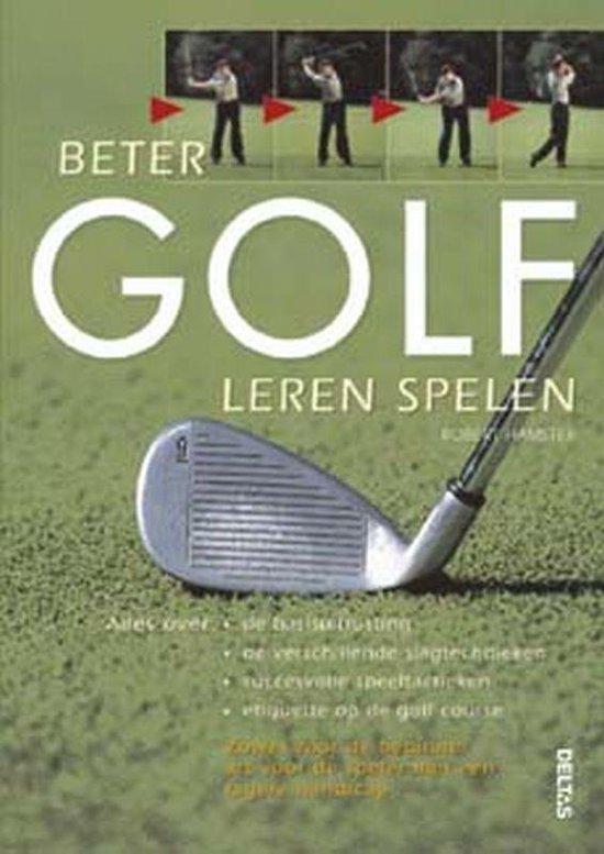 Cover van het boek 'Beter golf leren spelen'