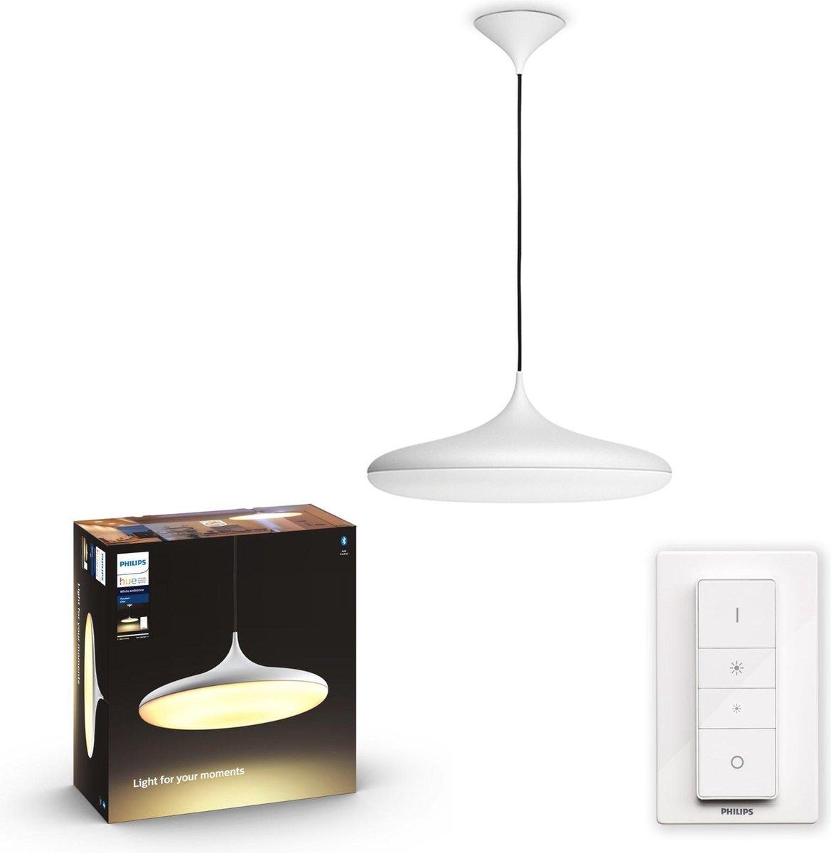 Philips Hue - Cher Hue Pendant White - White Ambiance Bluetooth
