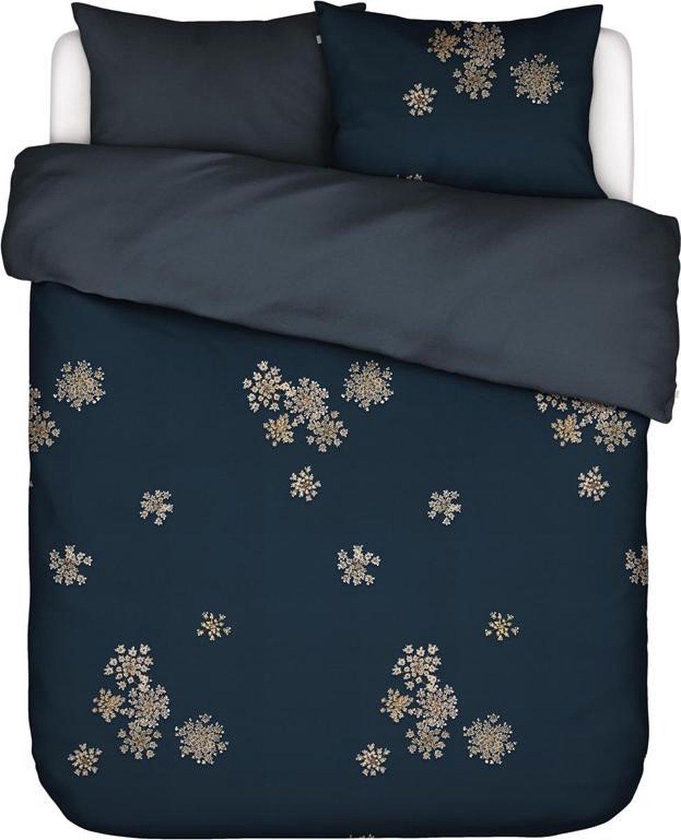 Essenza Home dekbedovertrek Lauren indigo blue - 1-persoons (140x200/220 cm incl. 1 sloop) kopen
