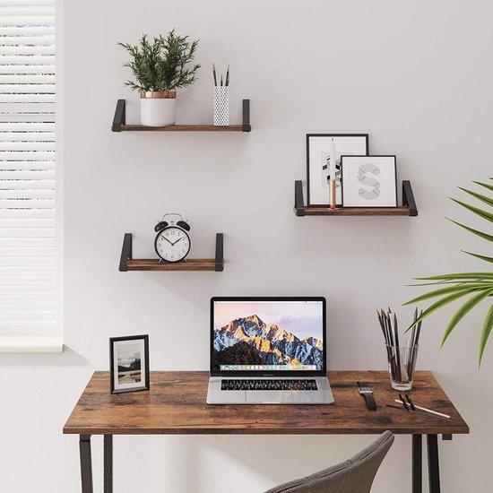 Bol Com Ibella Living Industriele Wandplanken Hangende Planken Set Van 3