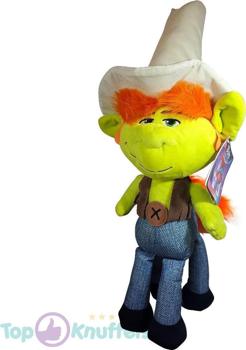 Hickory Trolls Pluche Knuffel 46 cm | Trolls Wereldtour | Trolls World tour | Trols Plush | Poppy & Friends
