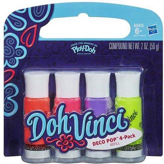 DohVinci refills 4 kleuren – Klei