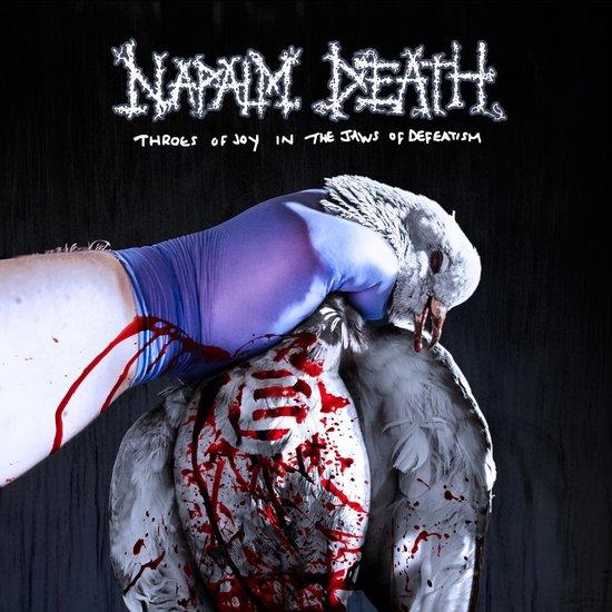 CD cover van Throes Of Joy In The Jaws Of D van Napalm Death