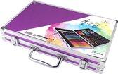 Schilderskoffer | 79-delig | Metalen koffer