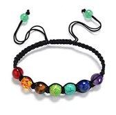 NiSy.nl Chakra Armband met Gekleurde stenen | Buddha Reiki Yoga