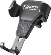 Kreezi RX4 PRO Mobiele telefoonhouder auto ventilatie rooster - Zwart - GSM - Autohouder