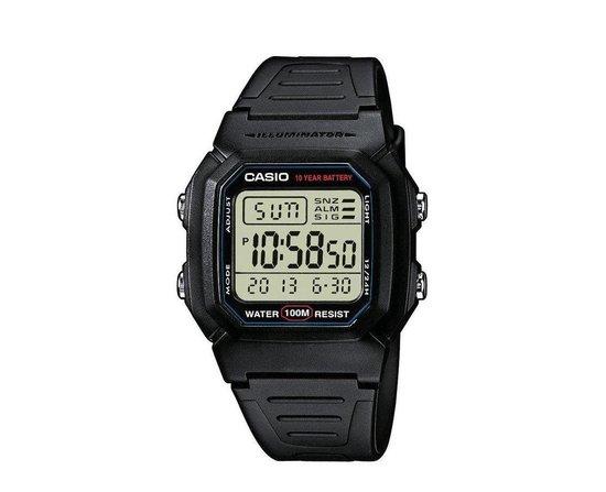 Casio Vintage - W-800H-1AVES - Heren - Horloge - 36.8 mm