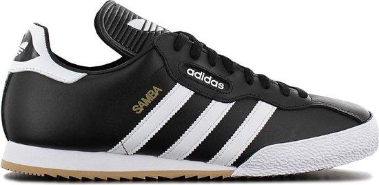 adidas Originals Samba Super - Heren Sneakers Sport Casual Schoenen Zwart 019099 - Maat EU 44 UK 9.5