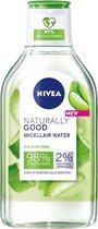 NIVEA Naturally Good Micellair Water met biologische aloë vera - 400ml