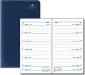 Castelli agenda H36 2021 - zakagenda - Latina pvc Seta - blauw