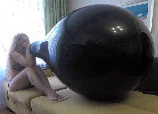 Russische 45 inch reuze ballon - Zwart - 115 cm - grote ballonnen