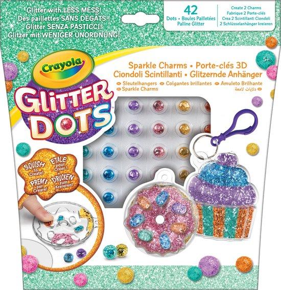 Glitter Dots - Glitter Bakkerij Sleutelhangers