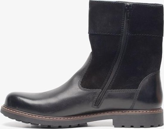 | Hush Puppies leren heren boots Zwart Maat 40