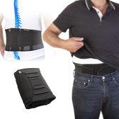 Easy in Shape Rugondersteuning   Rugband Brace   Correctieband Onderrug   Elastisch   Max 118cm   Zwart