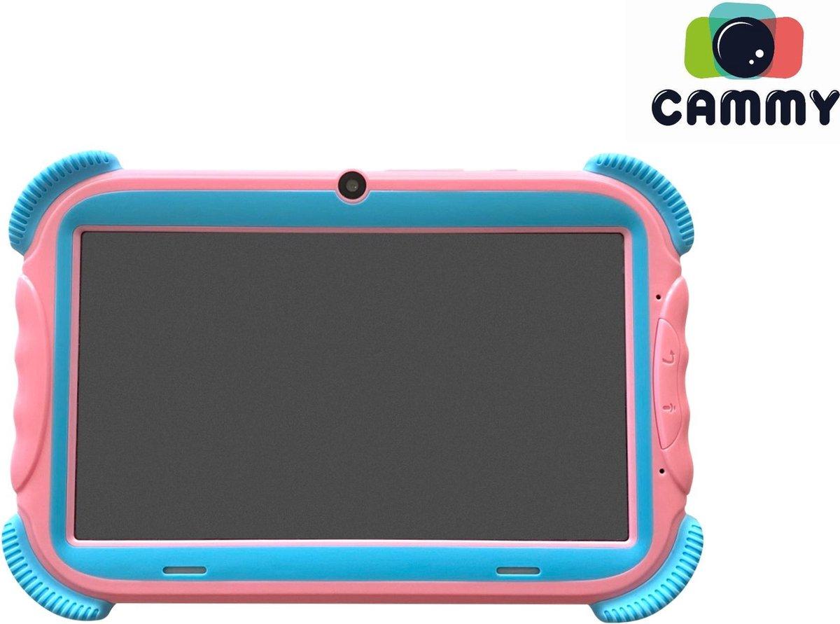 Cammy Kids Tablet Play – Kindertablet – 7 inch scherm – Quad Core Processor + 2GB werkgeheugen – 16GB – Roze + Gratis Powerbank
