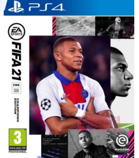 Cover van de game FIFA 21 - Champions Edition - PS4