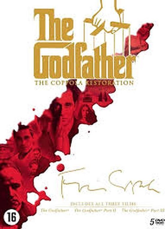 Cover van de film 'Godfather - The Coppola Collection'
