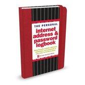 Internet address & passwordboekje (rood)