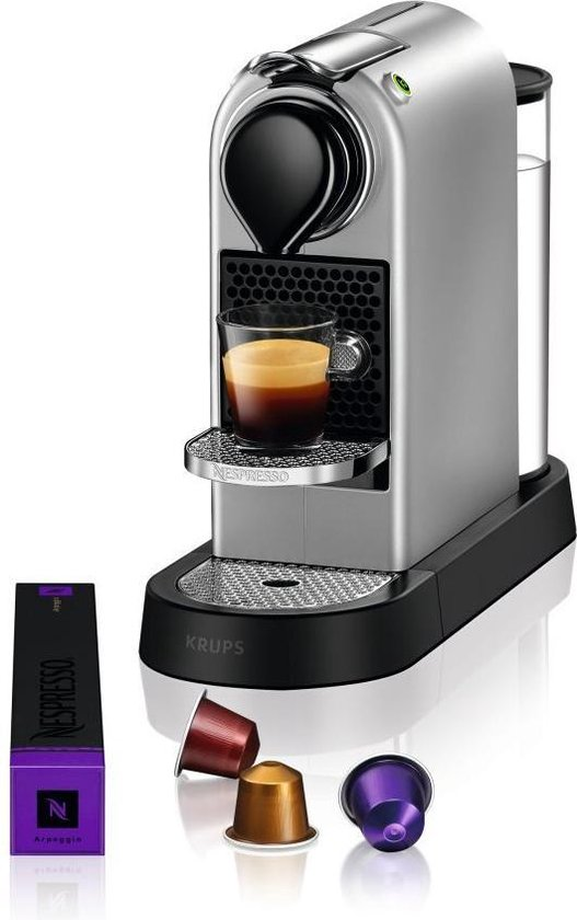 Krups Nespresso Citiz XN741B10 - Koffiecupmachine - Zilver