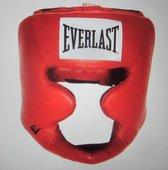 Everlast Equipment Lederen hoofdbescherming met volledige bescherming