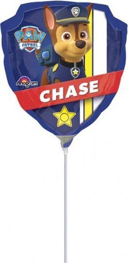 Paw Patrol Folie Ballon Chase Mini 28cm