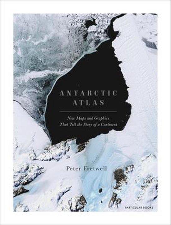 Boek cover Antarctic Atlas van Peter Fretwell (Hardcover)