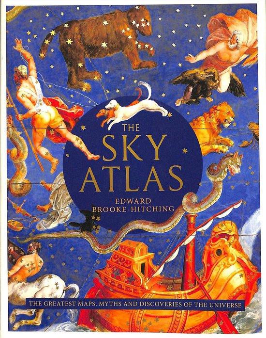 Boek cover The Sky Atlas van Edward Brooke-Hitching (Hardcover)