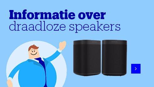 Informatie over verschillende soorten speakers