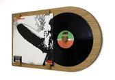 LP lijst | vinyl wissellijst | Klassiek eiken | Vinylplaat decoratie | Album formaat - 12 inch