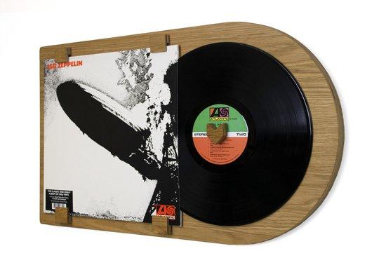 LP lijst   vinyl wissellijst   Klassiek eiken   Vinylplaat decoratie   Album formaat - 12 inch