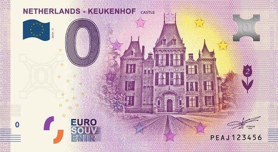Afbeelding van het spel 0 Euro Biljet 2019 - Keukenhof Castle
