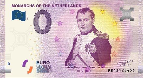 Afbeelding van het spel 0 Euro Biljet 2020 - Vorsten van Nederland - Keizer Napoleon Bonaparte