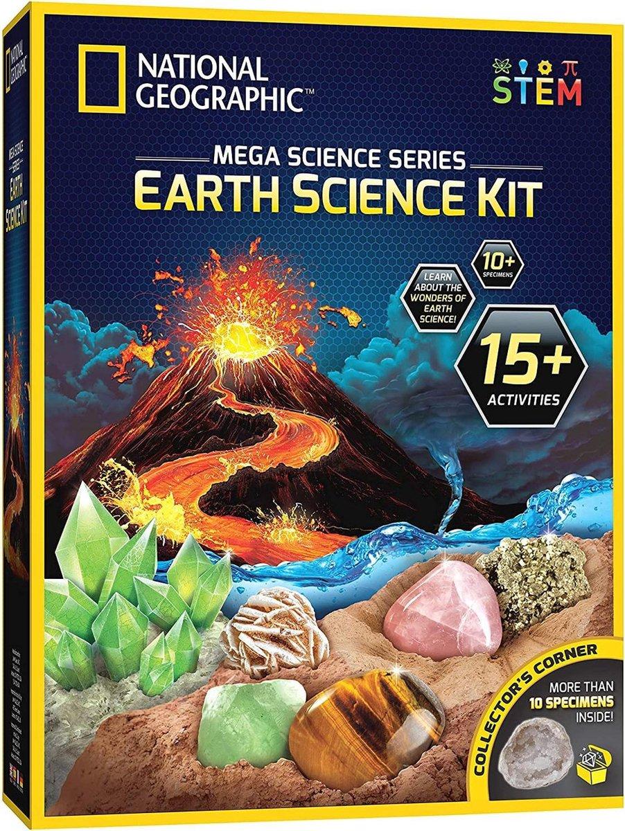 Earth Science Kit - National Geographic - Meerdere Activiteiten
