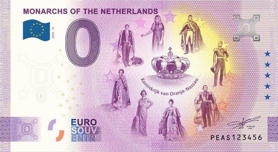Afbeelding van het spel 0 Euro Biljet 2020 - Vorsten van Nederland - Koninkrijk van Oranje-Nassau