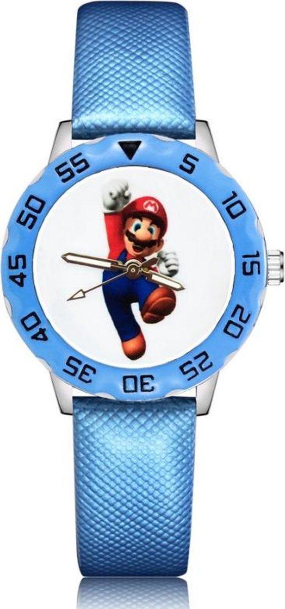 Super mario horloge met glow in the dark wijzers deluxe