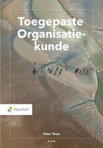 Boek cover Toegepaste Organisatiekunde van Peter Thuis