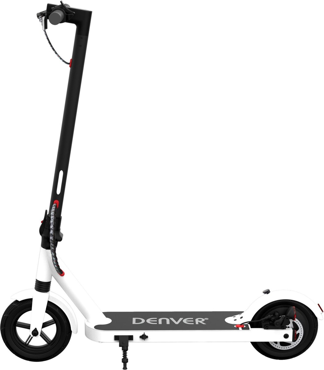 """Denver SEL-85350F Elektrische step voor kinderen & volwassenen 8.5"""""""" Wielen 25 km/u E-Step met aluminium frame actieradius 18KM Inklapbaar Met LED verlichting voor & achter E-Scooter Wit online kopen"""