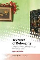 Boek cover Textures of Belonging van Andreea Racles
