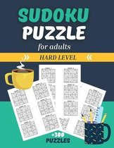 Sudoku Puzzle for Adults - Hard Level