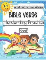 Bible Verse Handwriting Practice Book
