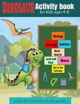 Activity book for kids ages 4-8 a fun kid workbook for game