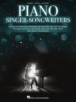 Boek cover Piano Singer/Songwriters van Hal Leonard Corp.