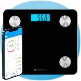Smarttech® - Slimme Weegschaal - Met Lichaamsanalyse - Met App - Bluetooth