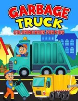 Garbage Truck Coloring Book for Kids