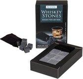 Whisky Stenen - Whiskey Stones - Zwart - In Geschenkzakje (6st)